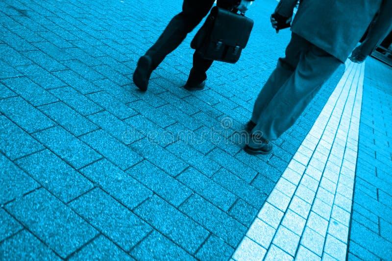Men Walking royalty free stock photography
