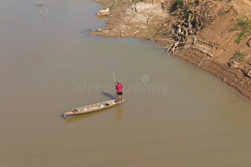 Download Men Wear Red Fishing Boat. Royalty Free Stock Image - Image: 29434816
