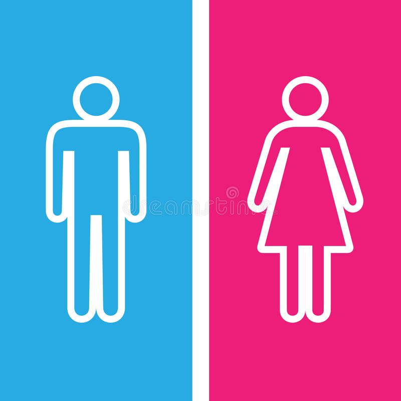 Merveilleux Download Men And Women Toilet Sign Great For Any Use. Vector EPS10. Stock  Illustration