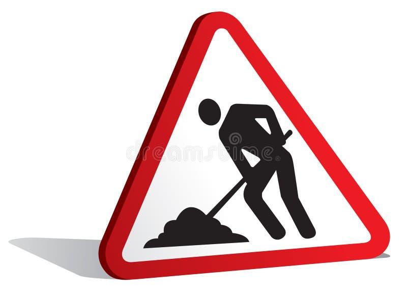 Download Men At Work Sign Stock Images - Image: 19018224