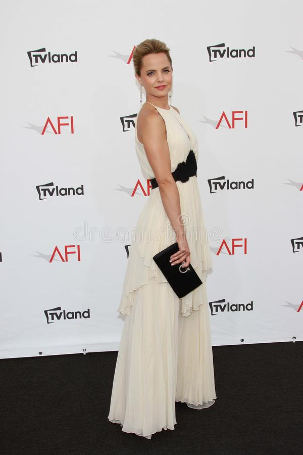 Mena Suvari at the AFI Life Achievement Award Honoring Shirley MacLaine, Sony Pictures Studios, Culver City, CA 06-07-12 stock photo