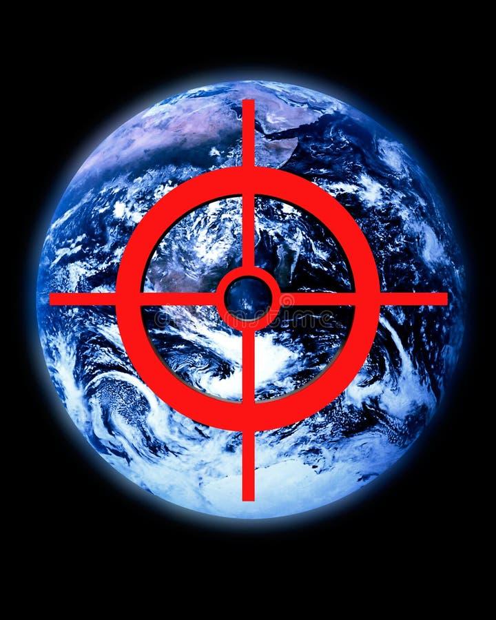 Menace globale illustration de vecteur