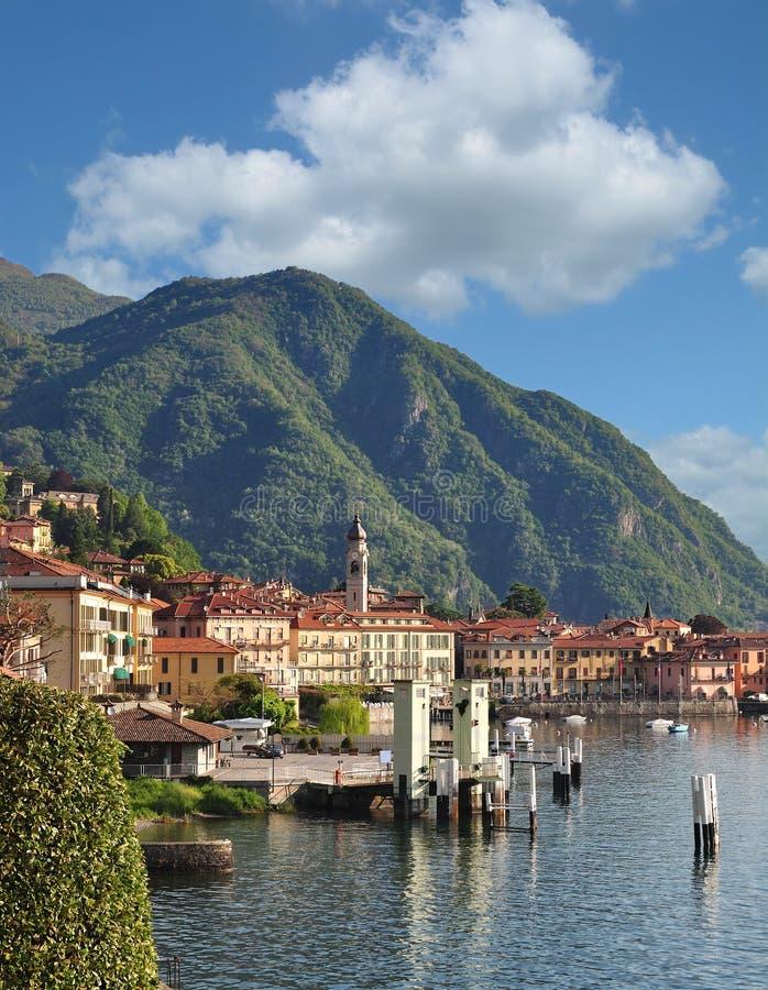 Menaggio, Comer See, Italien stockfotos