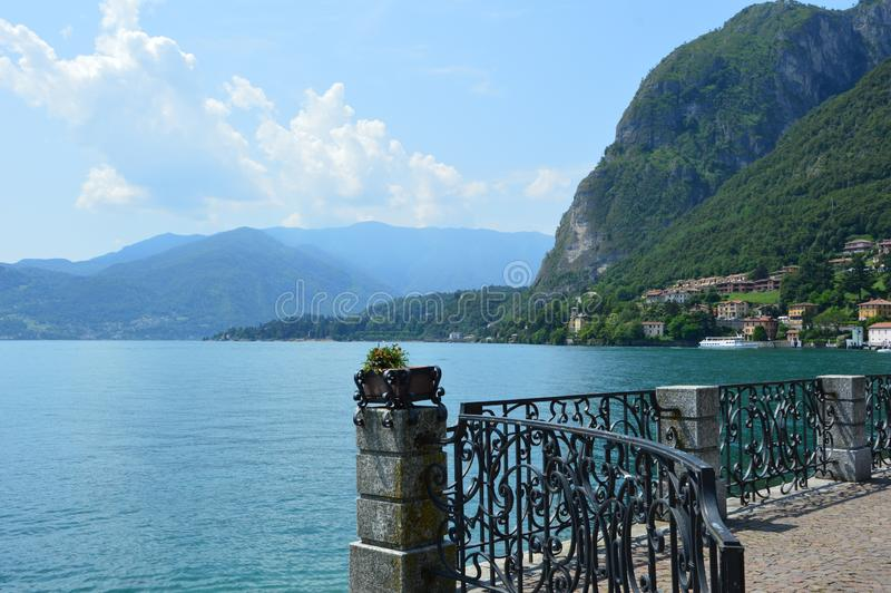 Menaggio.  One of the picturesque resorts of Italy. royalty free stock images