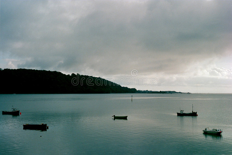 menai海峡 库存照片