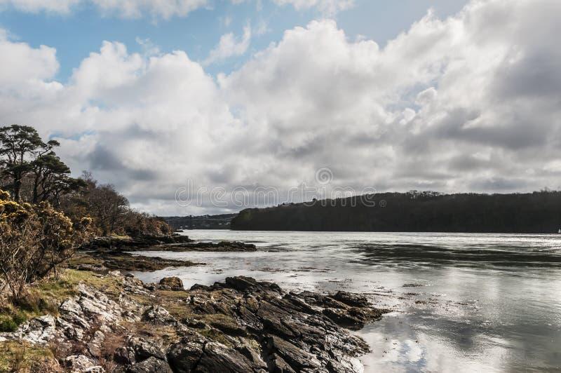 The Menai Straights - Welsh Landscape royalty free stock photos
