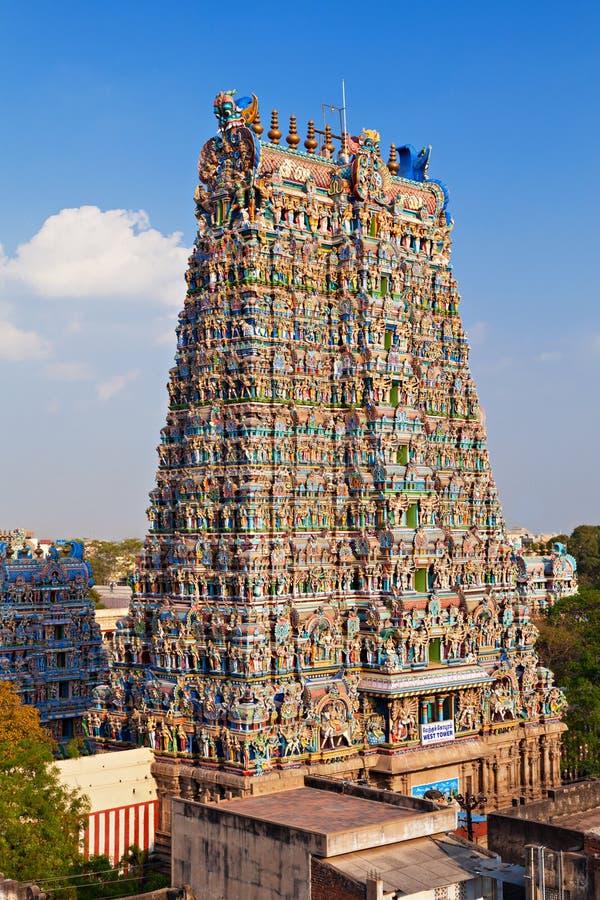 Menakshi Temple, India royalty free stock photography