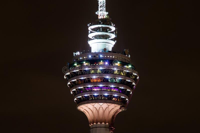 Menara Κουάλα Λουμπούρ - πύργος TV στοκ φωτογραφίες με δικαίωμα ελεύθερης χρήσης