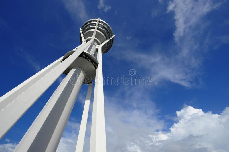 Menara Alor Setar. Alor Setar Tower is a 165.5 m telecommunication tower in Alor Setar, Kedah, Malaysia. Apart from serving the role of a telecommunication tower royalty free stock photography