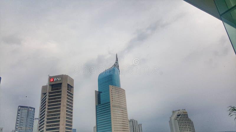 Menara BNI雅加达 免版税图库摄影