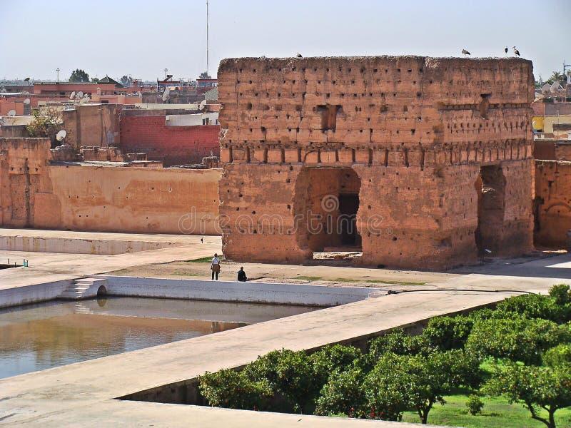 The Menara garens royalty free stock photos