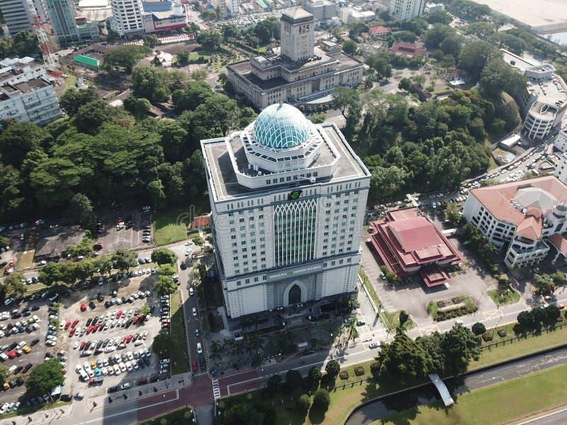Menara tabungHaji i Johor Bahru Malaysia royaltyfria foton