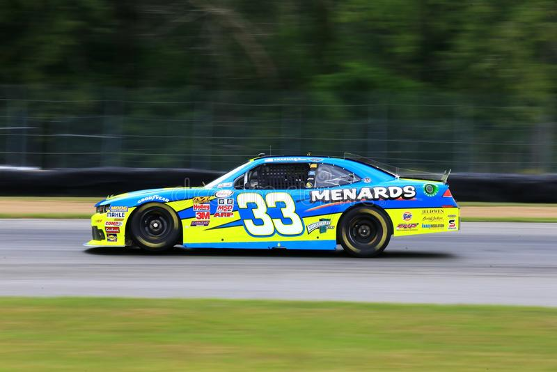 Menards NASCAR Chevrolet racerbil arkivfoto