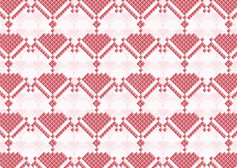 Menchia kwitnie piksel royalty ilustracja