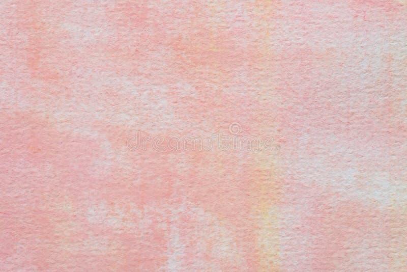 Menchia malujący aristic akwareli tekstury tło fotografia royalty free