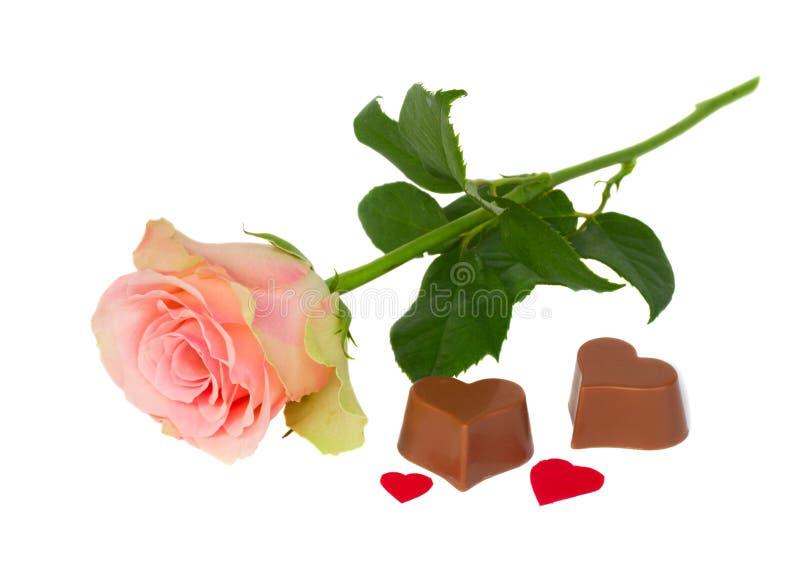 Menchie wzrastali z czekoladą zdjęcie royalty free
