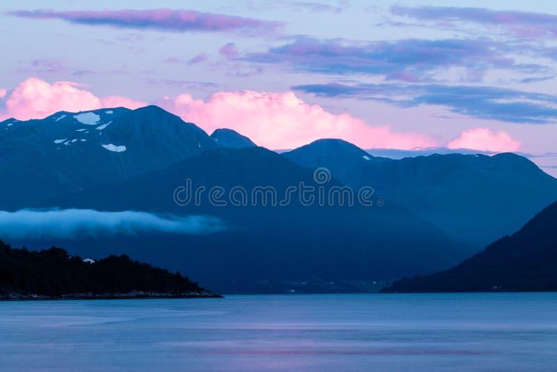 Menchii chmury fotografia stock