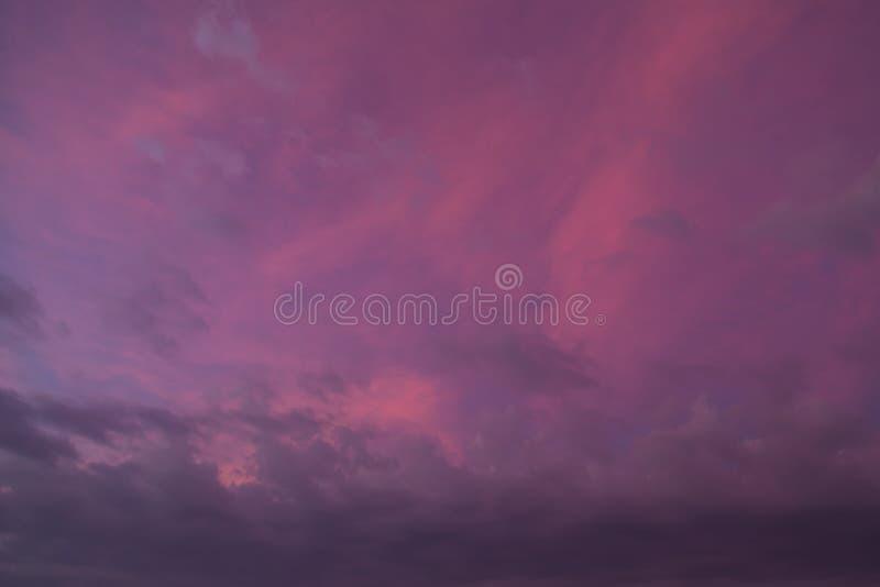 Menchii chmury - niebo Fiji zdjęcie royalty free