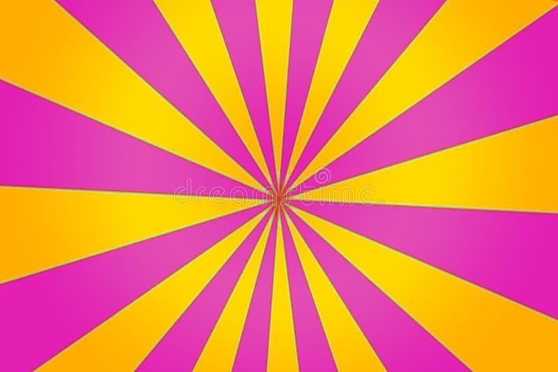 Menchii I koloru żółtego szpilki koło ilustracji
