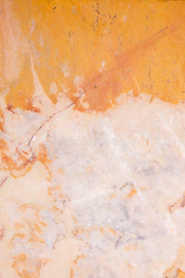 Menchii i pomarańcze marmur zdjęcia stock