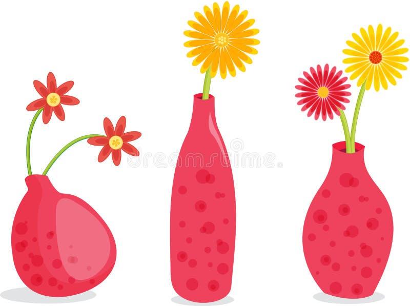 menchii vasesa trzy ilustracja wektor