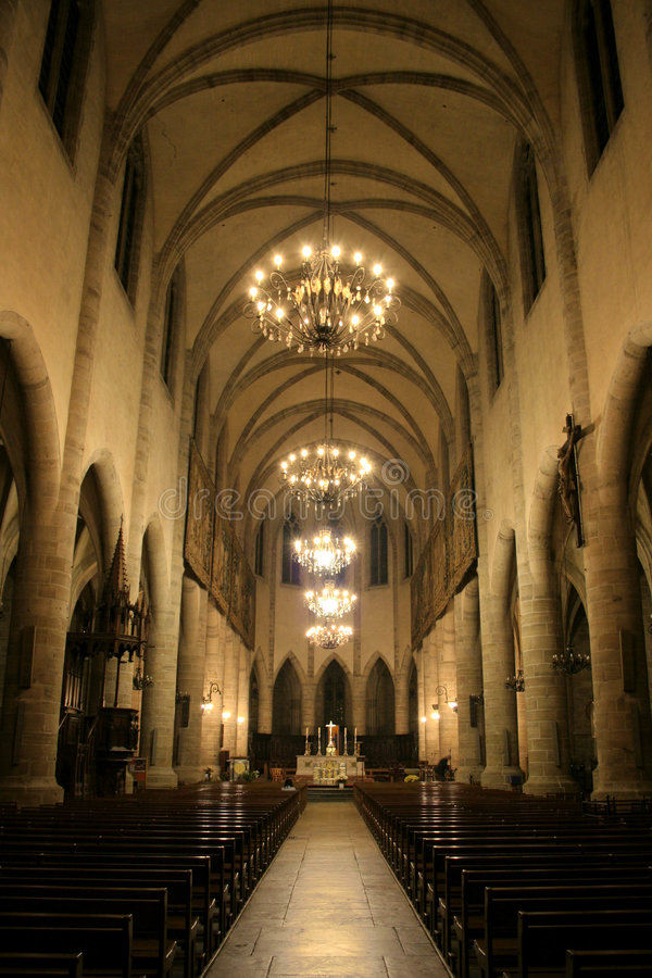 Free Mende Cathedral, France Royalty Free Stock Images - 7860549