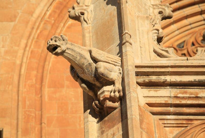 Mende Cathedral histórico, França sul foto de stock