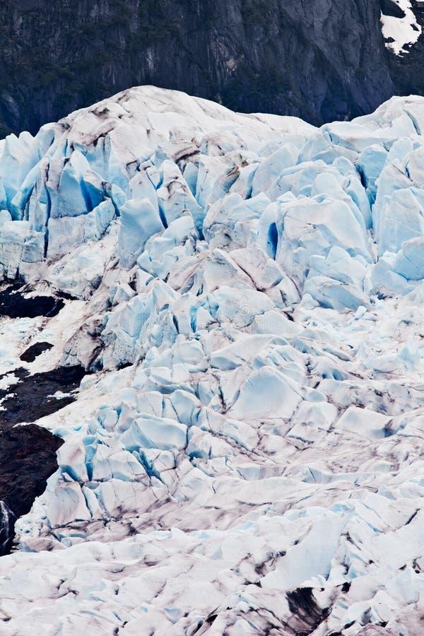 Mendenhall Gletscher stockfotografie