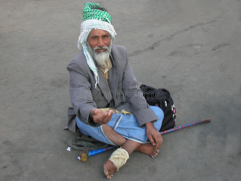 Mendicanti in India fotografia stock libera da diritti