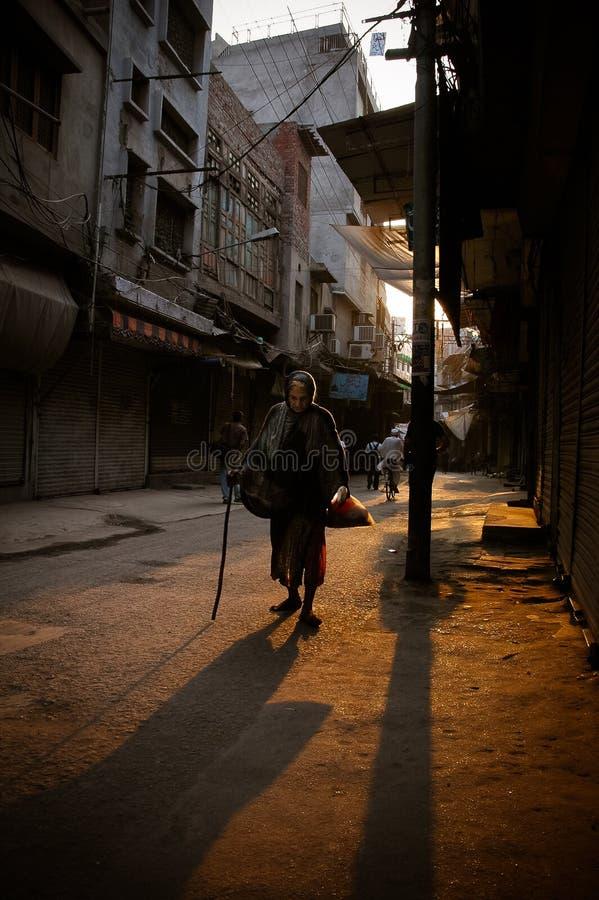Mendigo de la calle fotografía de archivo