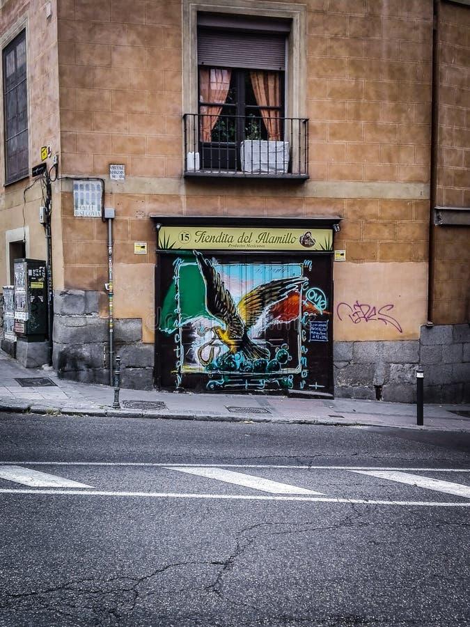 Mendital Del Alamillo Store Facade foto de archivo