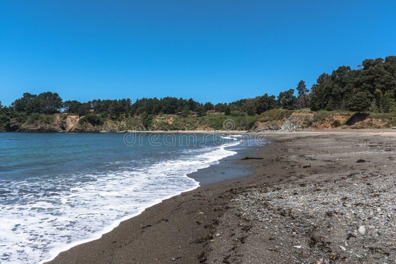 Mendocino海湾,加利福尼亚 免版税库存照片