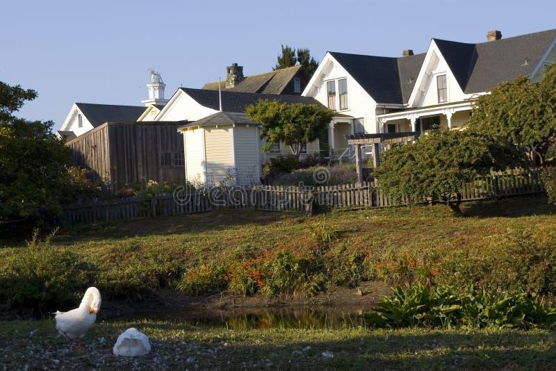 Mendocino, Californië royalty-vrije stock foto