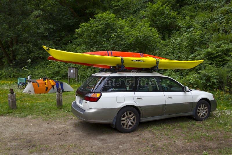 Download MENDOCINO, CALIFORNIA, USA - JUNE 8. Sea Kayak Car Camping In Ru Editorial Stock Photo - Image: 31896203