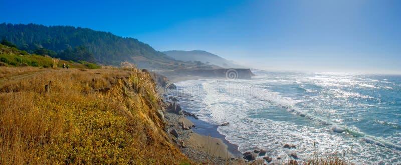 Mendocino Cliff Walk photos stock