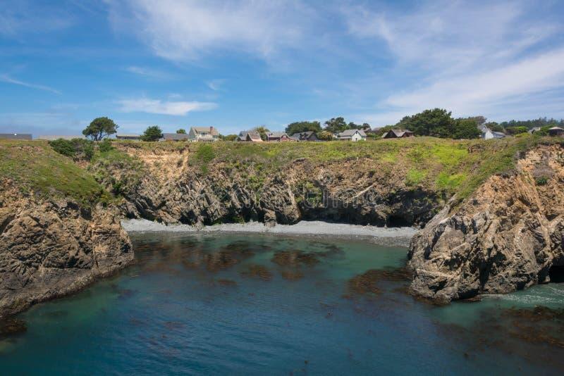 Mendocino, la côte photos stock