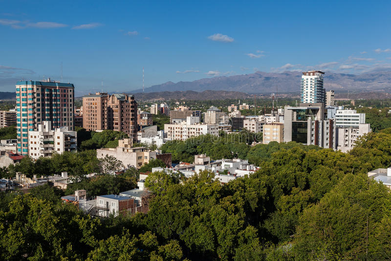 Mendoza Αργεντινή στοκ φωτογραφία με δικαίωμα ελεύθερης χρήσης