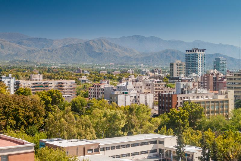 Mendoza, la Argentina imagenes de archivo