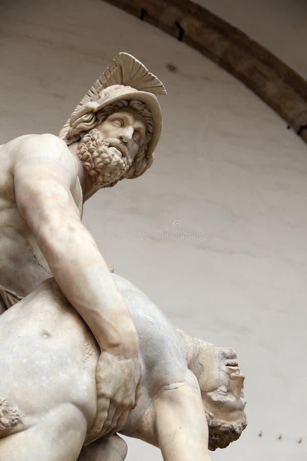 Menelaus e Patroclus fotografia stock libera da diritti