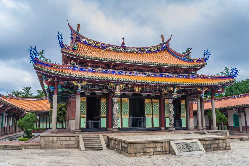 Mengjia der Longshan-Tempel für eine Mischung von Buddhist und Taoist dei stockfotos