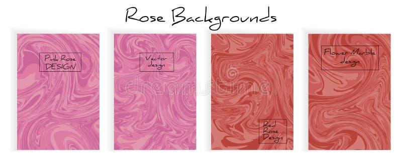Mengsel van acrylverven Vloeibare marmeren textuur royalty-vrije stock fotografie