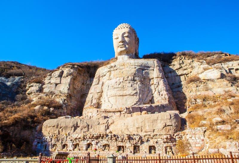 Mengshan Будда стоковое изображение