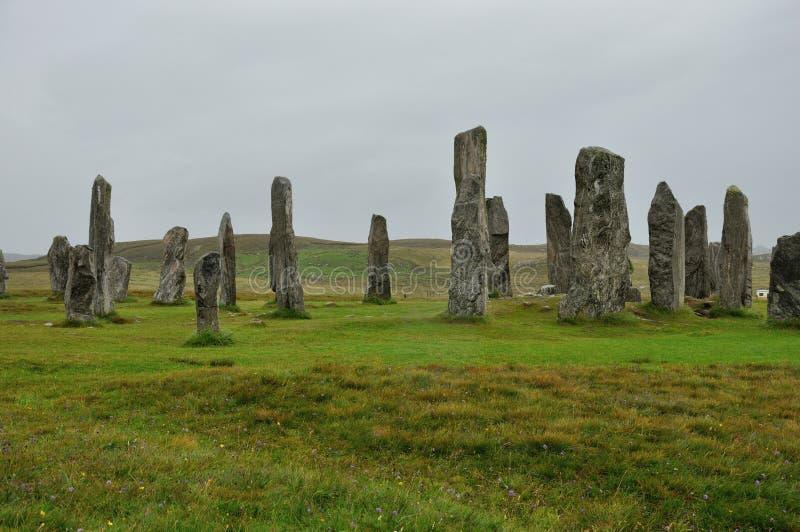 Menhir de Escócia imagem de stock