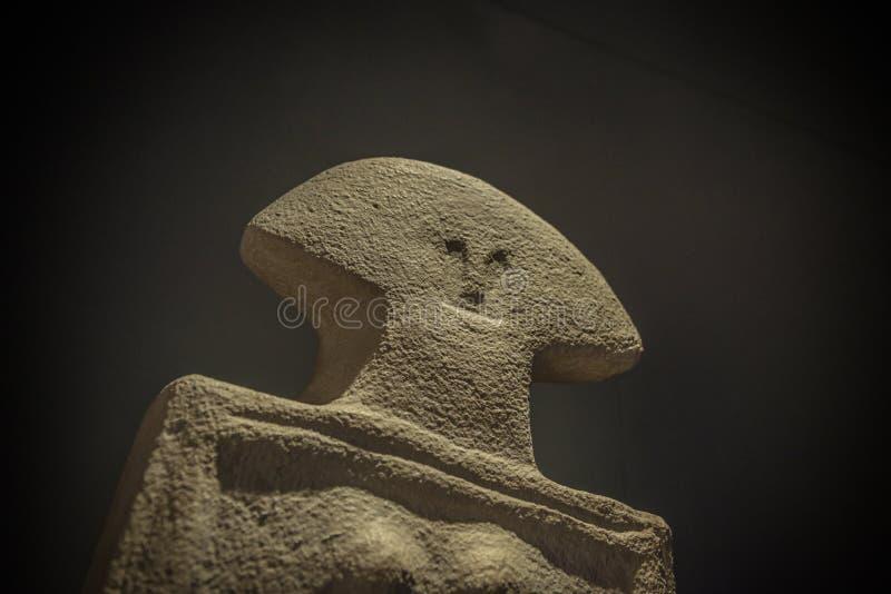 Menhir de la estatua foto de archivo libre de regalías