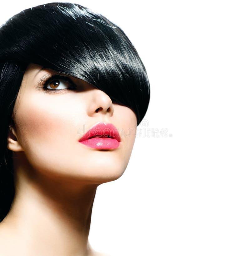 Menina à moda da beleza imagem de stock royalty free