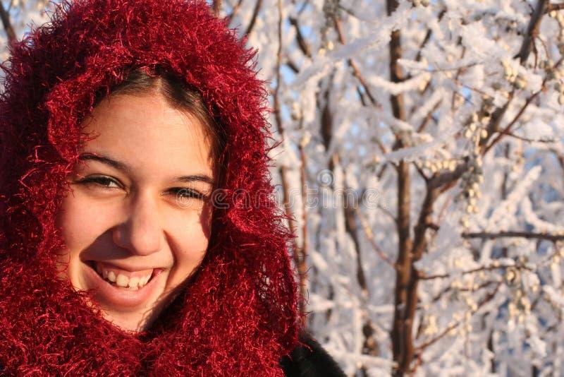 Menina étnica de sorriso foto de stock royalty free