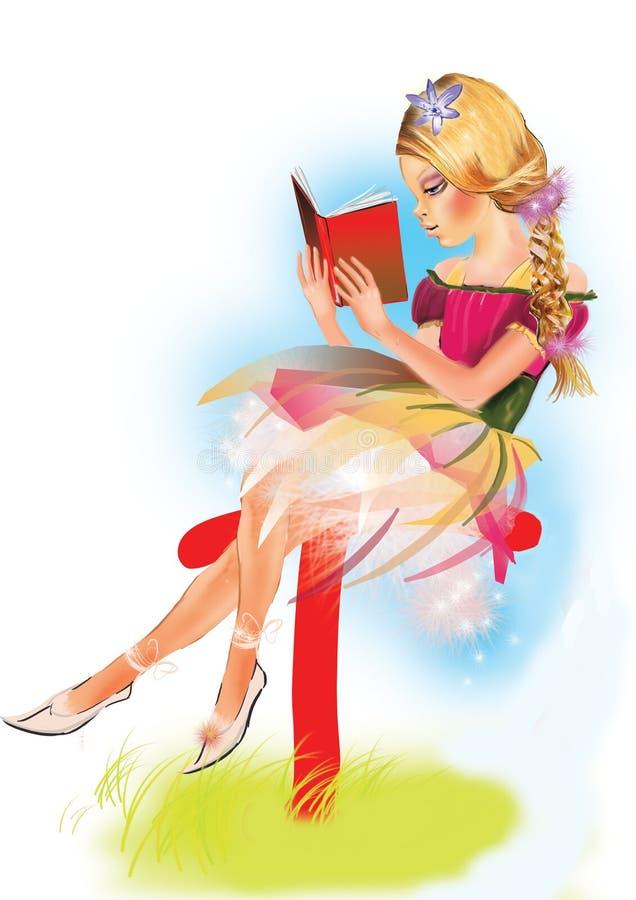 Download Menina ilustração stock. Ilustração de meninas, beleza - 12809628
