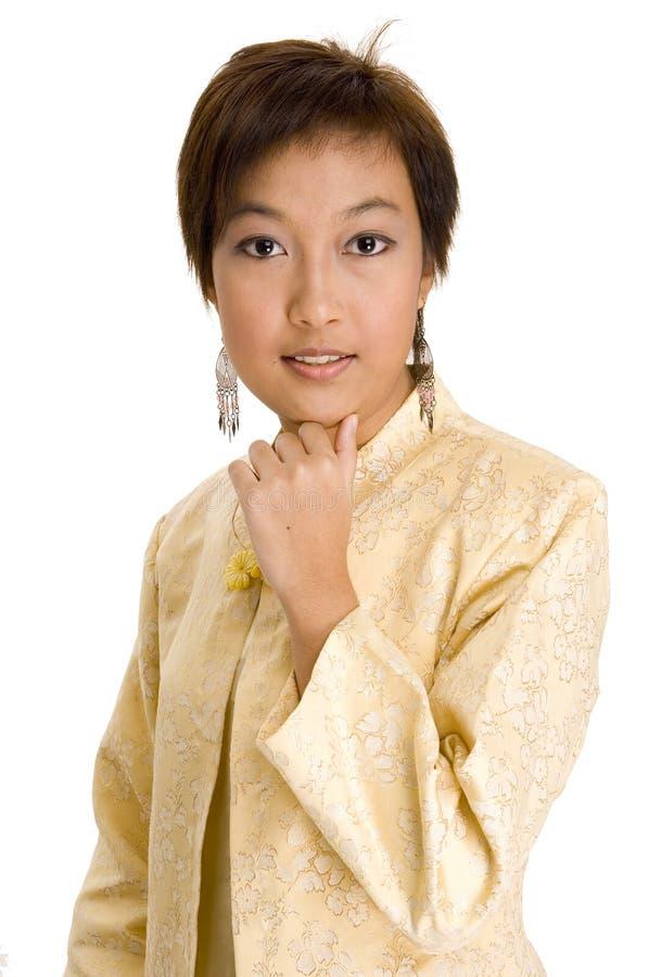Menina 13 do Malay fotos de stock royalty free