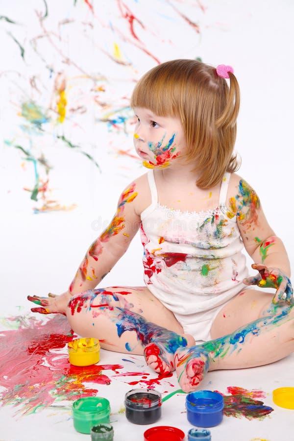 Download Menina foto de stock. Imagem de meninas, atividade, instrução - 16868164