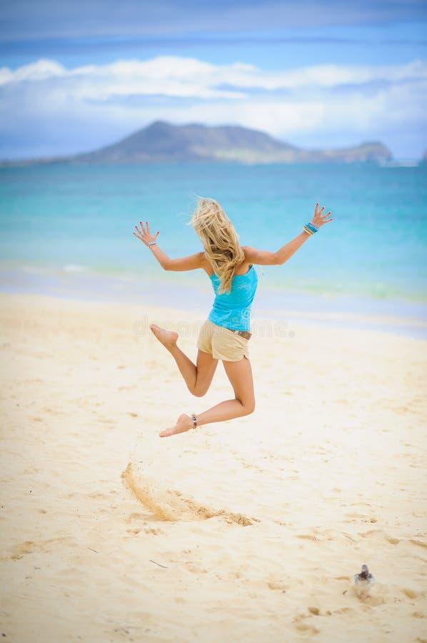 Menina 3 do surfista imagens de stock royalty free